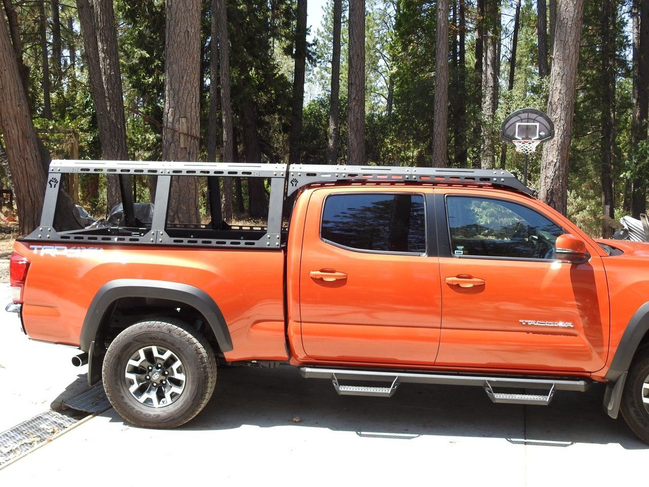 Dissent offroad aluminum rack system Truck accessories