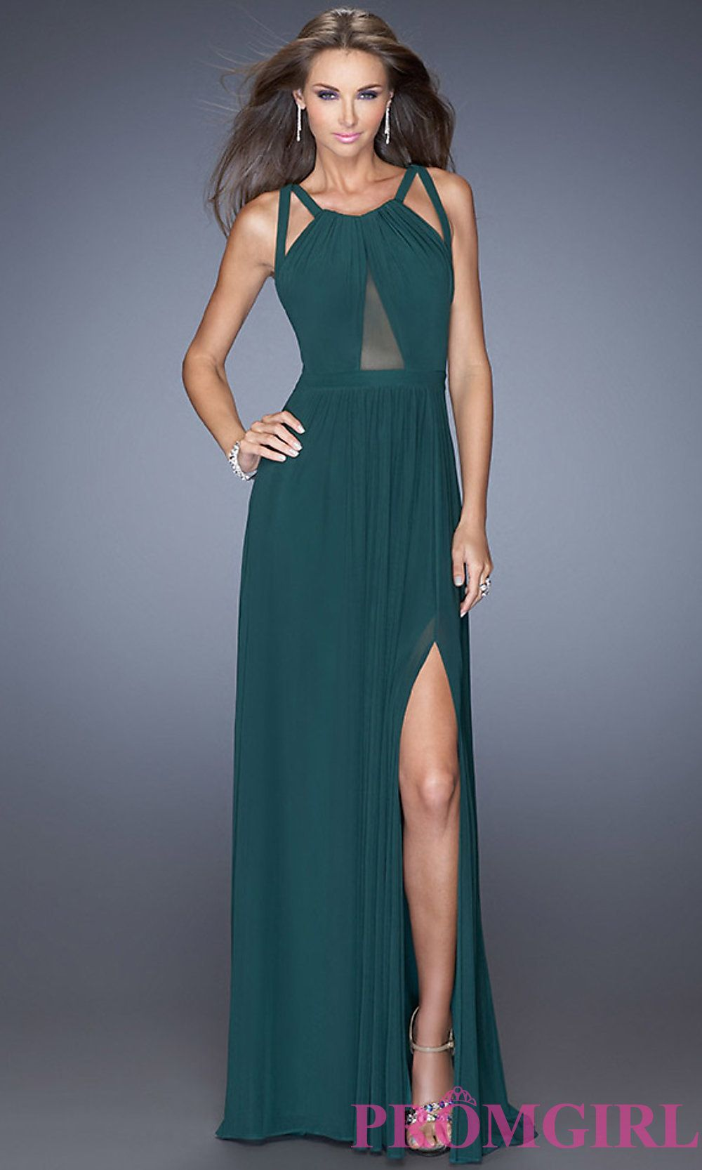 La Femme Long Open Back Dress- PromGirl | Fashion | Pinterest | Prom ...