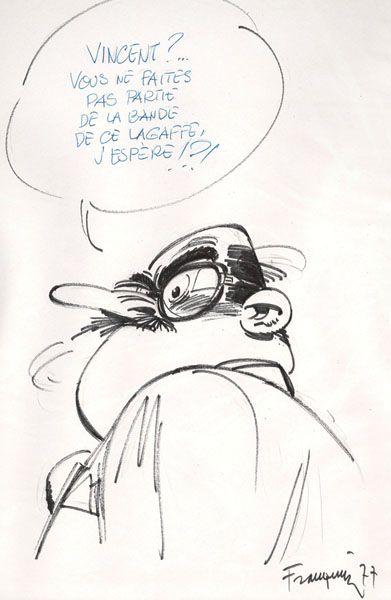 Vente 18 Bd Dimanche 21 Novembre 2010 Banque Dessinee Franquin Andre Franquin Dessin Bd