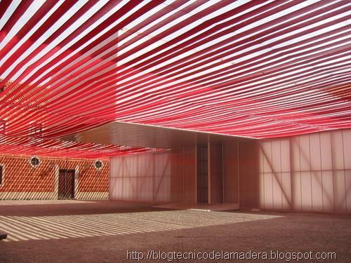 Arquitectura efimera madera laminada 15 telas pinterest for Madera laminada
