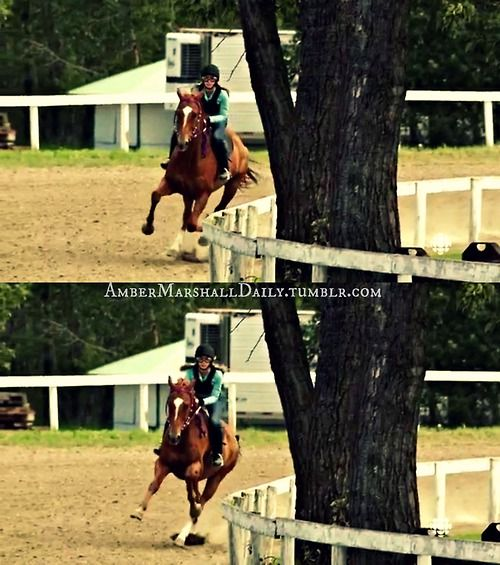 Amy riding Cisco Kid Heartland - 6x05 - Trial Run ...