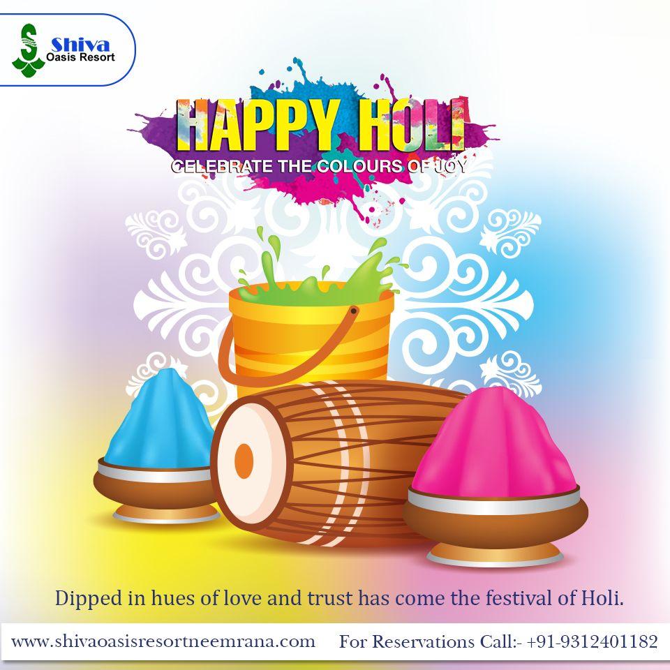 Shiva Oasis Resort, wishing you a very Happy Holi.  #holi #happyholi #india #festival #holifestival #love #colors #colours #color #holipowder #like #festivalofcolors #holifestivalofcolours #holihai #festivalofcolours #holifest #indianfestival #HappyHoli2020