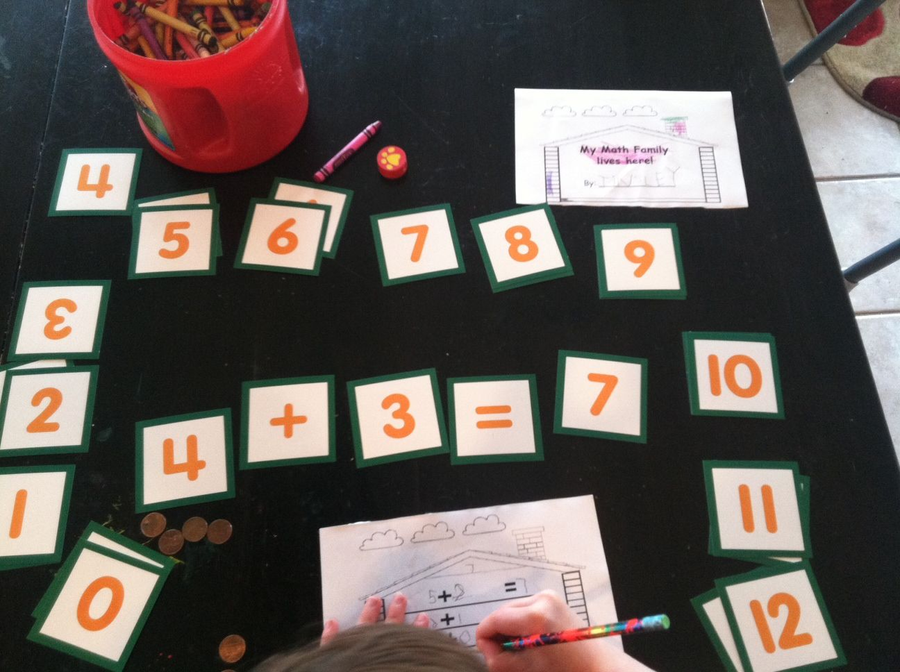 Lof Apples Ch 1 Math Fact Addition Families 7