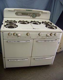 Burner Vintage Stoves 1950s House Vintage Appliances Gas Stove