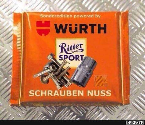 Photo of Ritter Sport Würth.   Lustige Bilder, Sprüche, Witze, wirklich lustig
