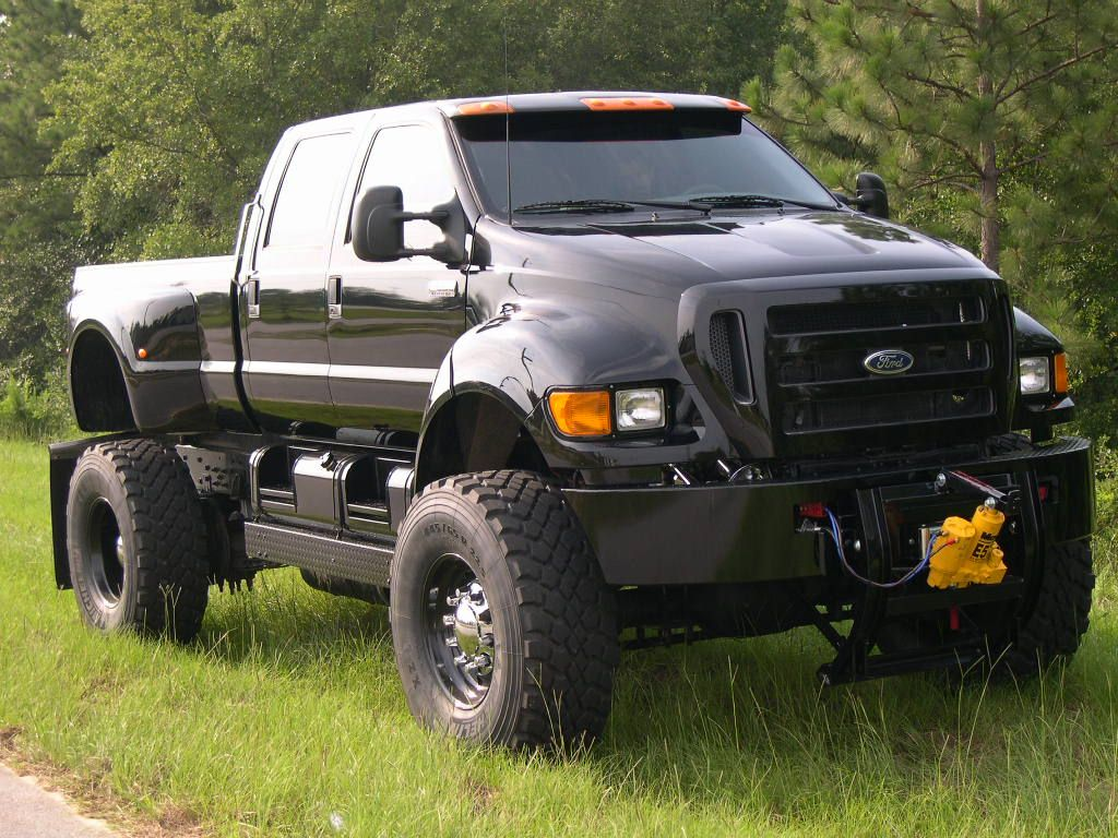 small resolution of picture of lifted truck that is 13 feet tall f650 anyone ford powerstroke diesel forum