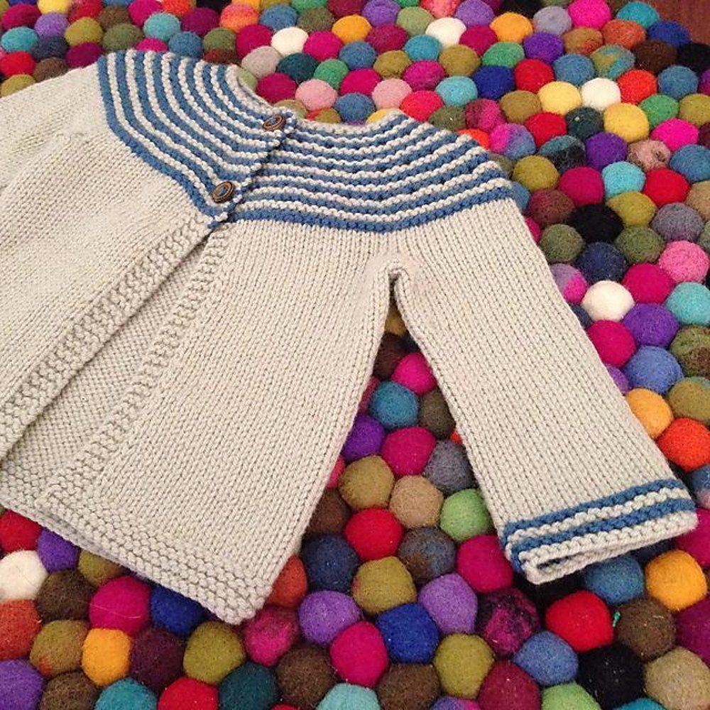 Gidday Baby Cardigan - download the FREE knitting pattern from ...