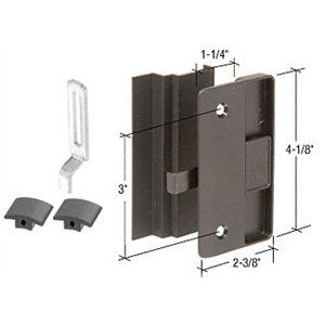 C R Laurence A219 Crl Black Sliding Screen Door Latch And Pull