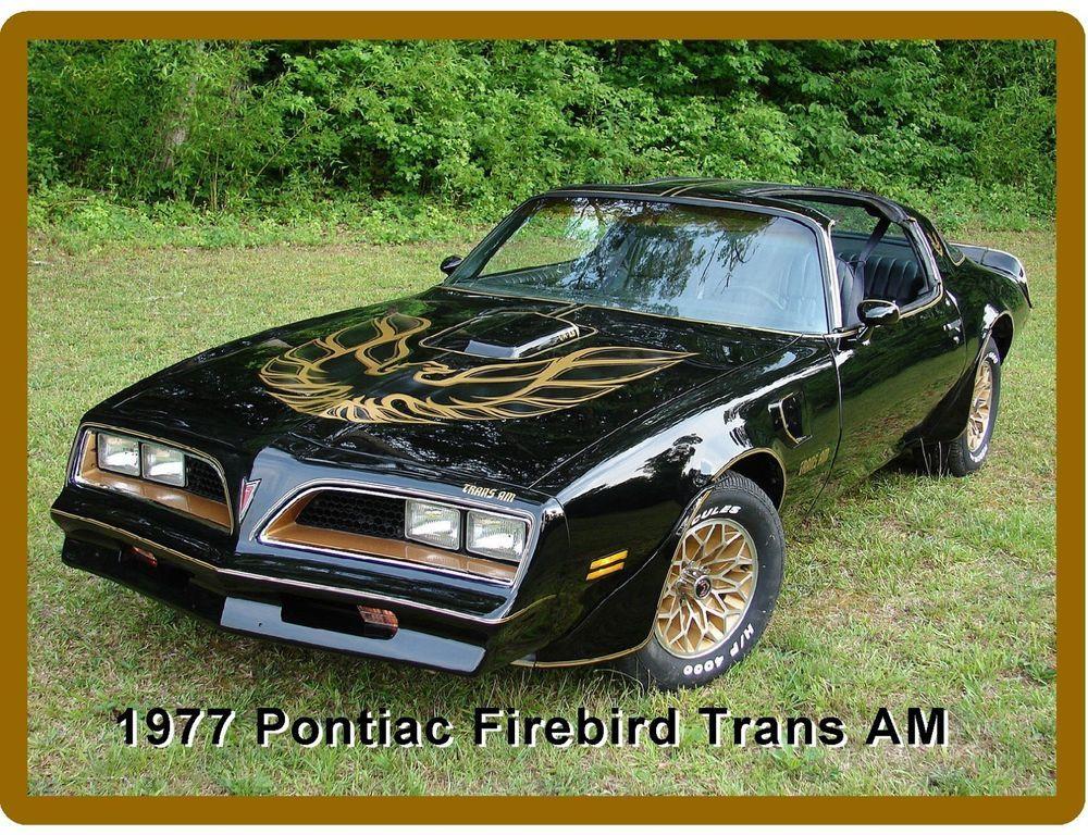 1977 Pontiac Firebird Trans Am Auto Car  Refrigerator / Tool Box  Magnet    eBay