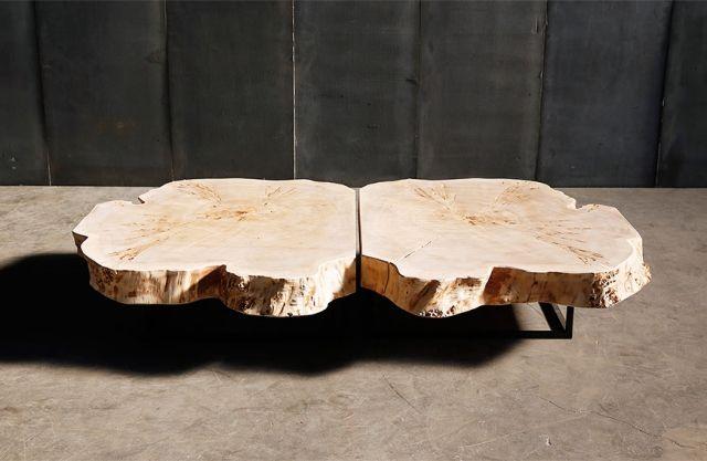 Couchtisch aus Massivholz \u2013 25 Designs für einen unkomplizierten