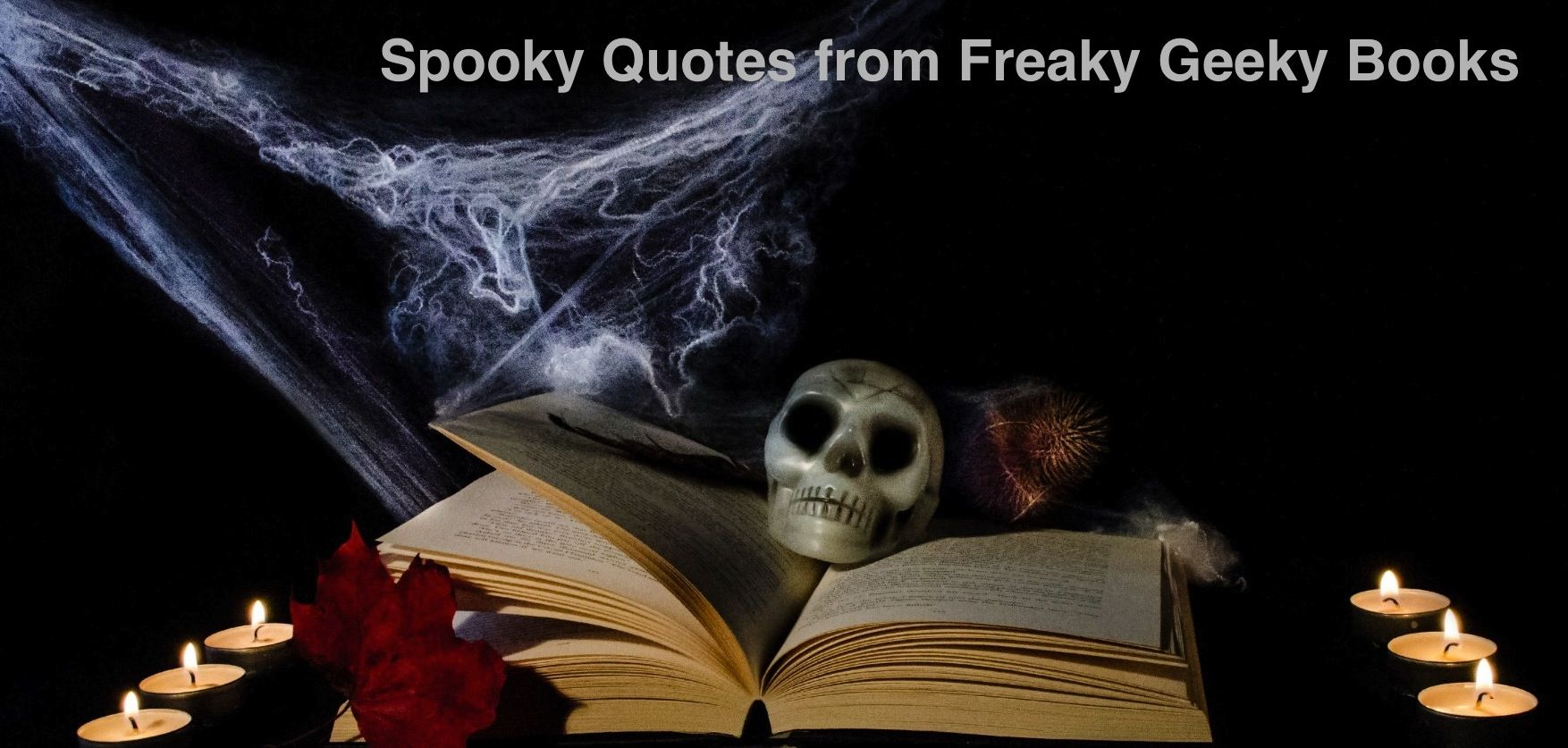 Hereu0027s A Collection Of Spooky Book Quotes Perfect For Halloween Night.