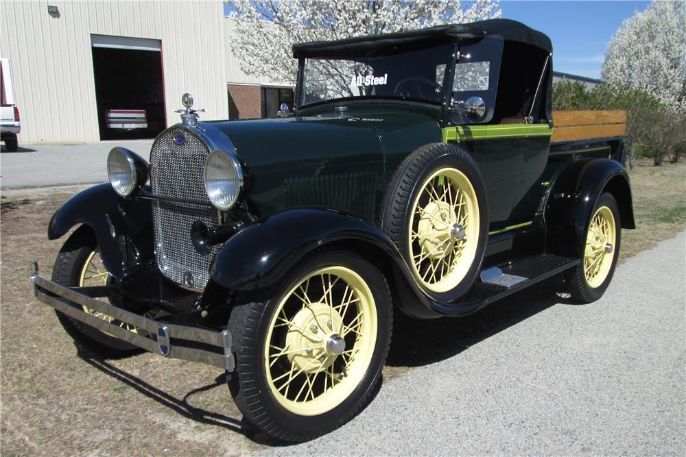 1928 FORD MODEL A ROADSTER PICKUP - Barrett-Jackson Auction Company ...