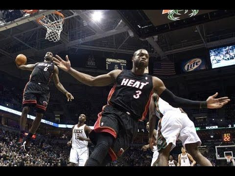 Dwyane Wade To Lebron James Alley Oop S Compilation Lebron James Dwyane Wade Lebron And Wade Lebron James Dunking