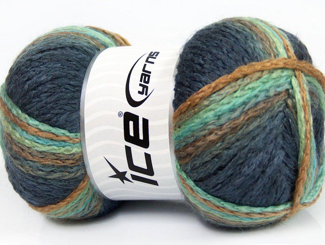 Fiber Content 97% Acrylic 3% Polyamide Turquoise Navy Brand ICE Camel Blue fnt2-41673