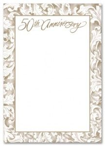 Free Printable 50th Wedding Anniversary Invitations Allaboutweddingplanning Com 50th Wedding Anniversary Invitations 50th Wedding Anniversary Wedding Anniversary Invitations