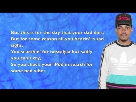 c6758713e5432 Chance The Rapper - The Writer - Lyrics - YouTube