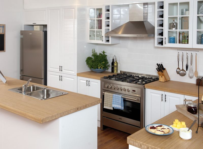 Kaboodle Kitchen In Heritage Gloss Profile