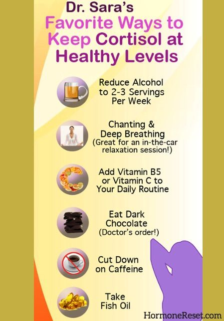 diet plan to lower cortisol levels