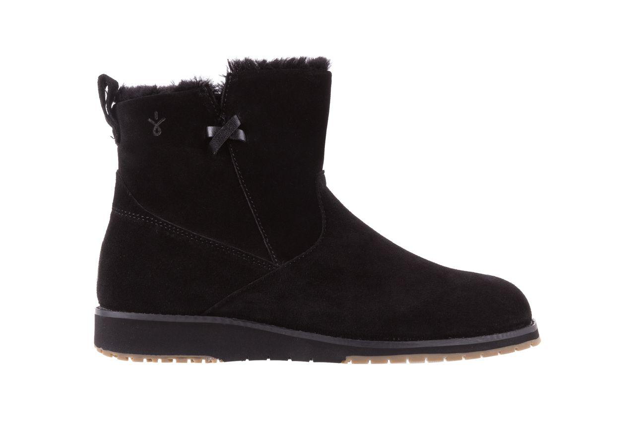 Emu Beach Mini Black 18 Czarne Sniegowce Emu Australia Zapinane Na Zamek Wyrozniaja Sie Wyjatkowo Zgrabnym Ksztaltem Buty Ocieplo Boots Chelsea Boots Shoes