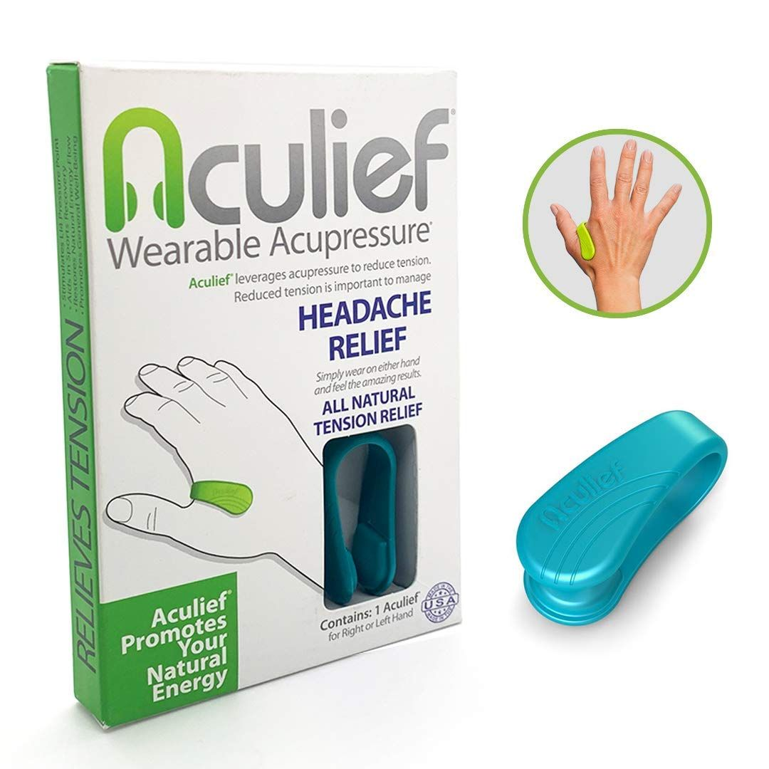 Aculief- Award Winning Natural Headache and Tension Relief ...