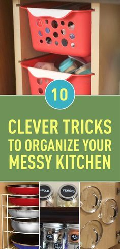 If you spend much time working in your kitchen, it will easy get cluttered, and before you know it, it's a total mess. Organizing your kitchen can sometimes be a tedious task. To make things easier, we have some tips and tricks up our sleeves to help you turn this task into a walk in the park.