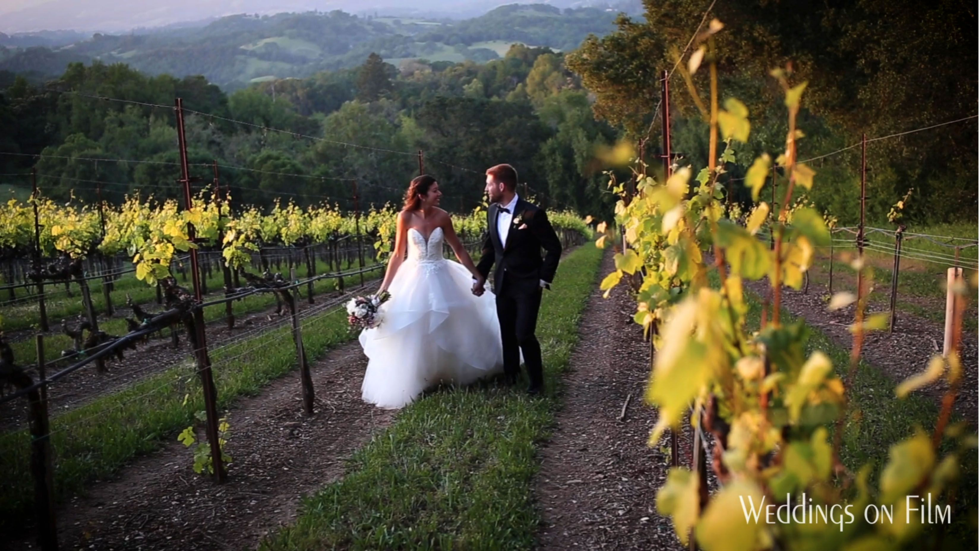 Winery Wedding At Chalk Hill Estate Sonoma Preview Video By Weddings On Film Winery Weddings Napa Wedding Wedding Videographer