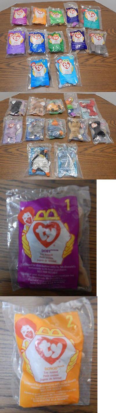 ce220ecdfda Teenie Beanies 441  Vtg 1998 Mcdonald S Ty Teenie Beanie Babies Complete  Set Of 12 Factory Sealed -  BUY IT NOW ONLY   23.5 on  eBay  teenie  beanies  ...