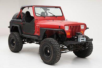 Flat Fender Jeep Yj Jeep Jeep Wrangler Yj