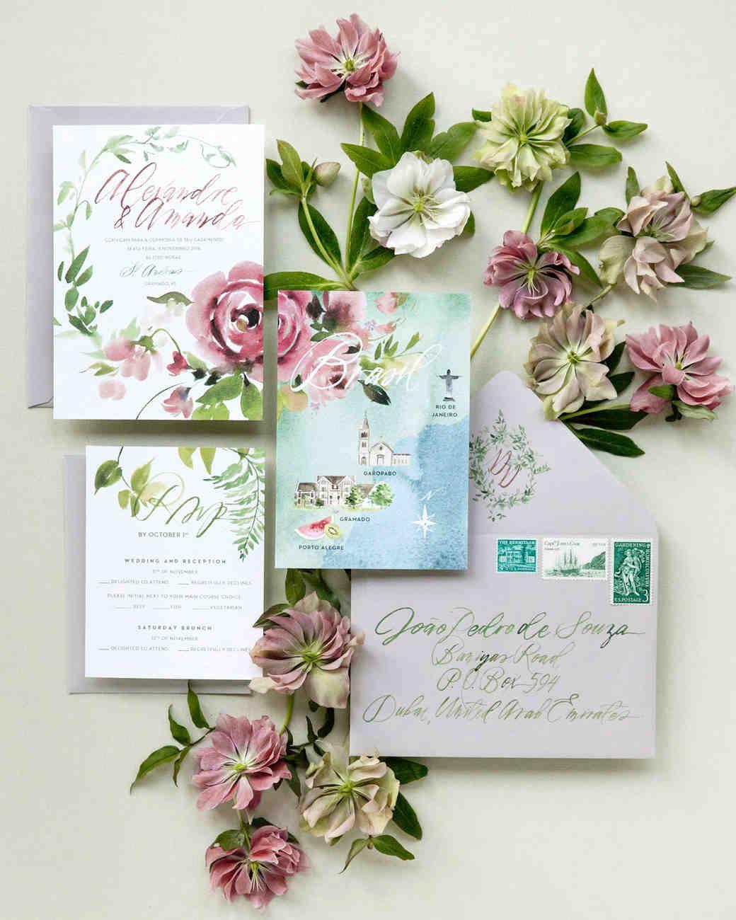 A PeachandPink GardenThemed Wedding in Brazil Floral