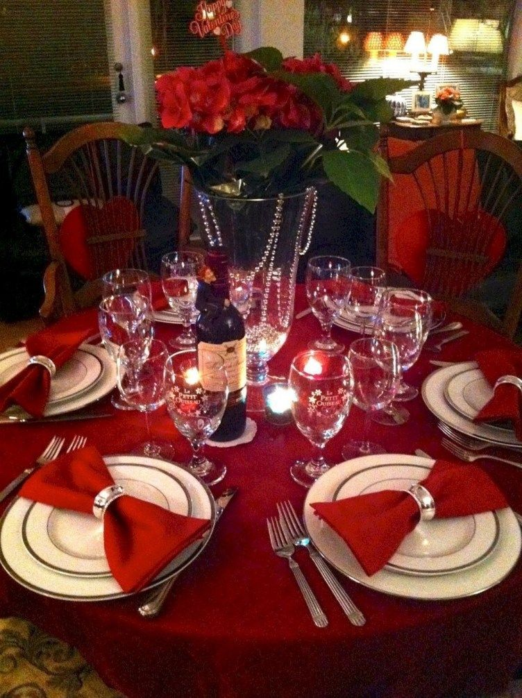 45 Dining Table Decor For Valentine S Day Dinner Valentine