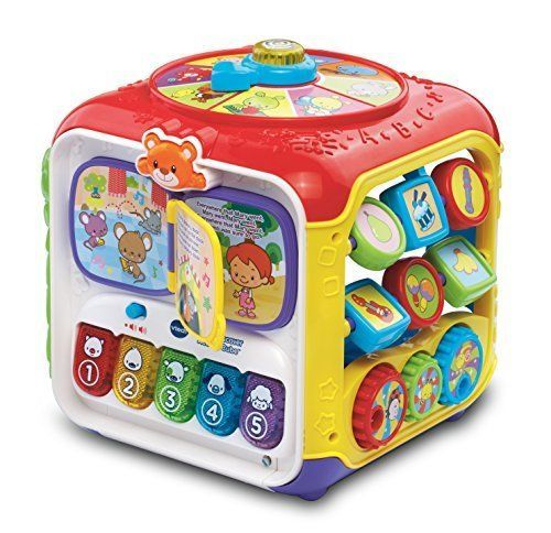 Baby Toys Activity Musical Cube Development Vtech Educational Toddler Infant New