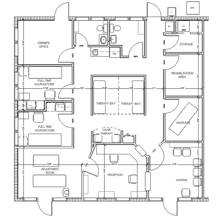 Medical office floor plans free home fatare for Dental office design 1500 sq ft