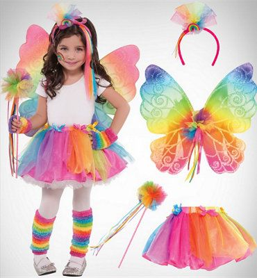 Girlsu0027 Rainbow Fairy  sc 1 st  Pinterest & Girlsu0027 Rainbow Fairy | Bridgetu0027s gifts | Pinterest | Rainbow fairies