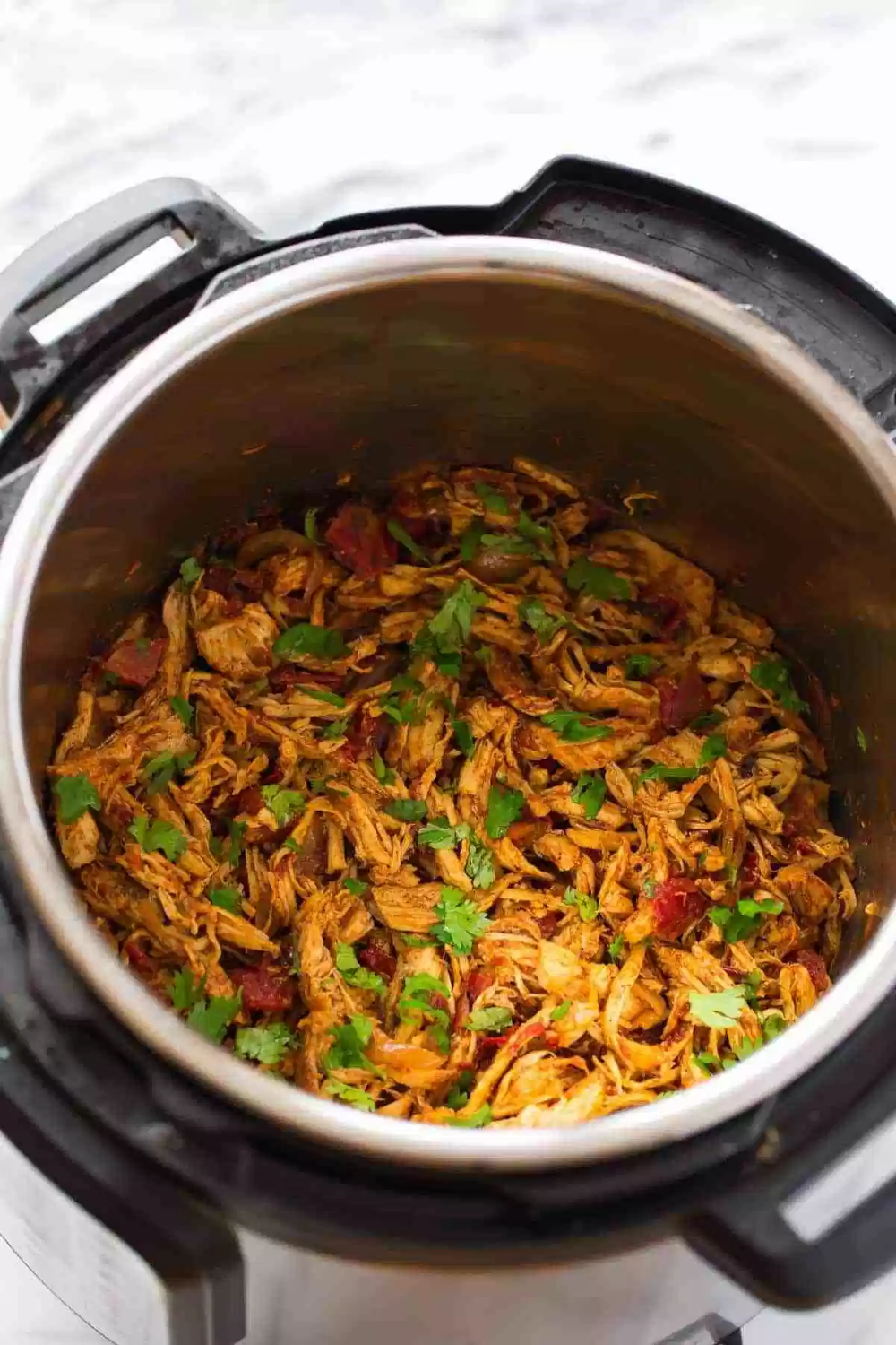 Instant Pot Shredded Chicken Tacos Shredded Chicken Tacos Pulled Chicken Recipes Instant Pot Chicken