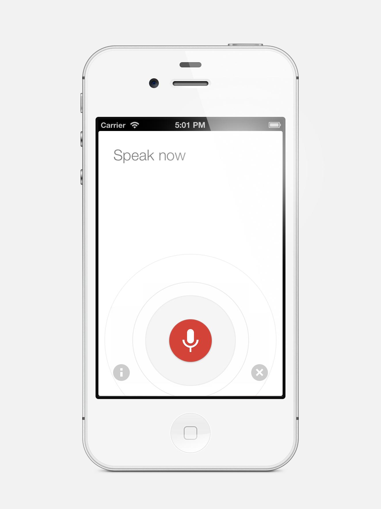 iphone full app design google voice iphone pinterest