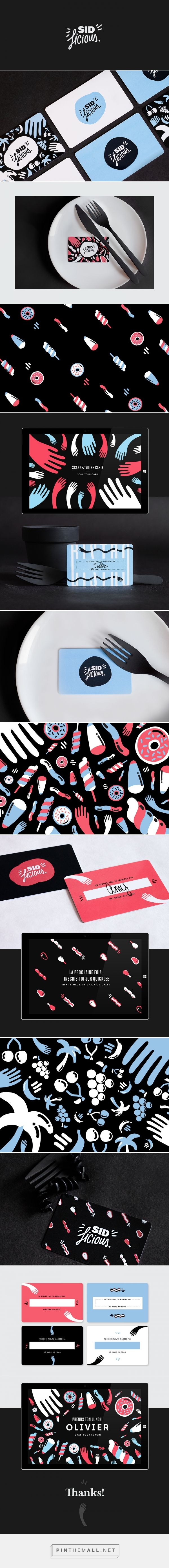 Sid Licious Bistro by Sid Lee on Behance   Fivestar Branding – Design and Branding Agency & Inspiration Gallery