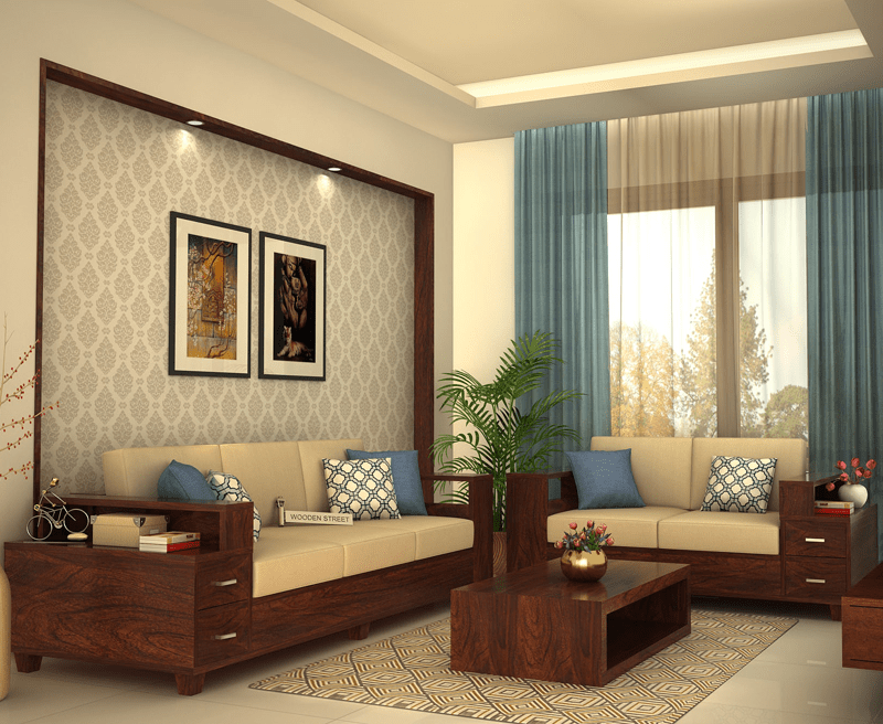 Pune Living Room Sofa Design Wooden Sofa Designs Sofa Design