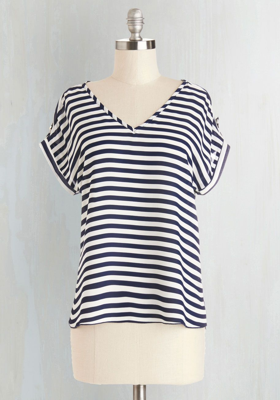 b5033c76a3 Spring Trends - Pastry Picks Top in Stripes