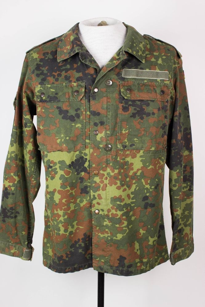 Various Sizes Used Genuine German Army Surplus German Flecktarn Camo Jacket