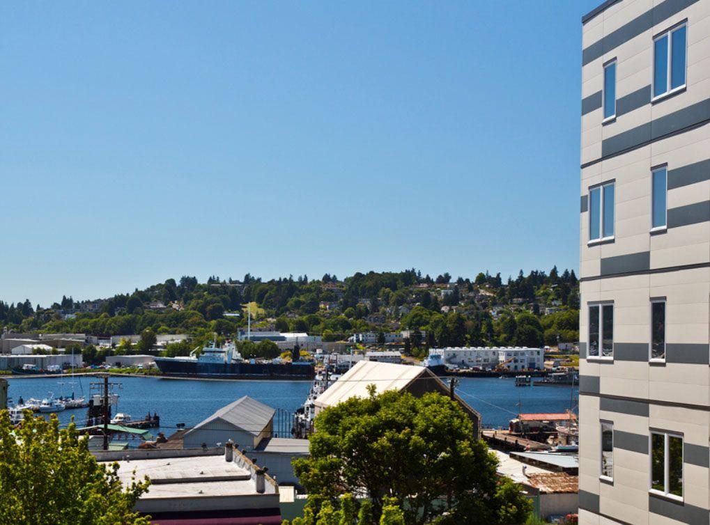 The View From Amli Mark24 Luxury Seattle Apartments In Ballard