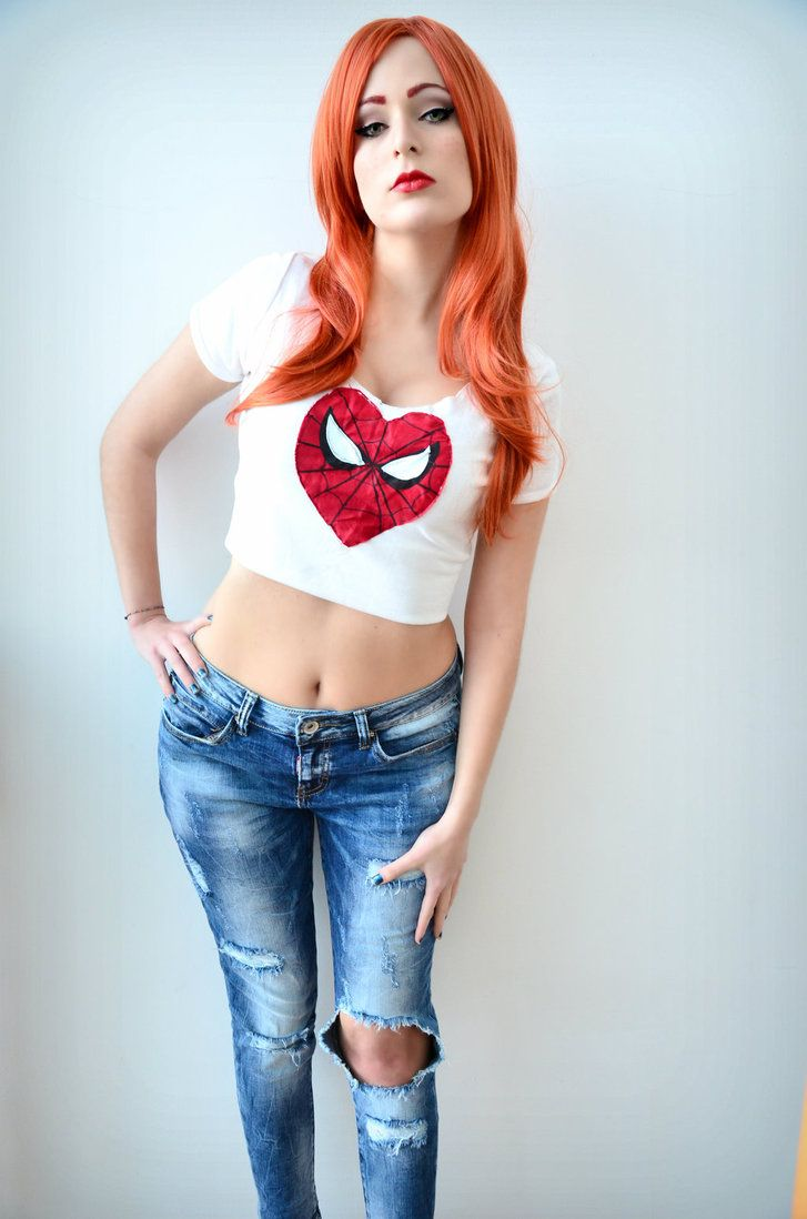 Marvel's sexy Mary Jane Watson by cosplayer ...