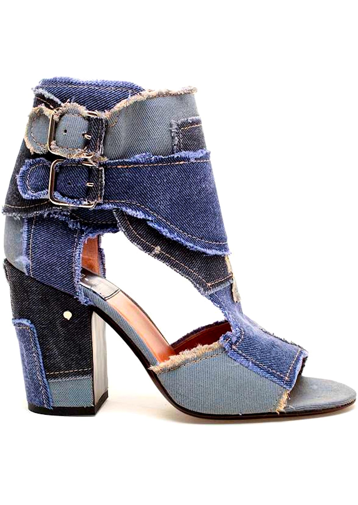 Laurence Dacade | @ shoes ( booties ) | SHOES......uff9a O u221a u4e47 u2665 | Pinterest | Denim heels Shoe ...