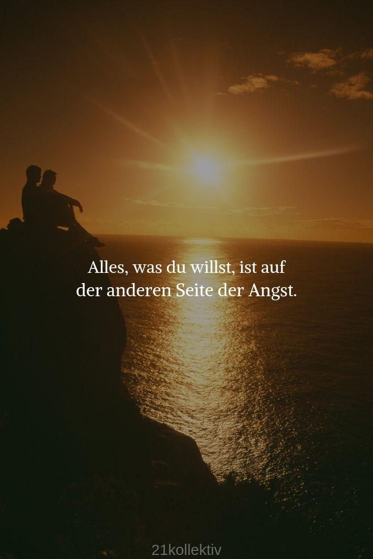 Alles, was du willst, ist auf der anderen Seite de... - #alles #anderen #auf #de #der #du #ist #motivation #Seite #willst