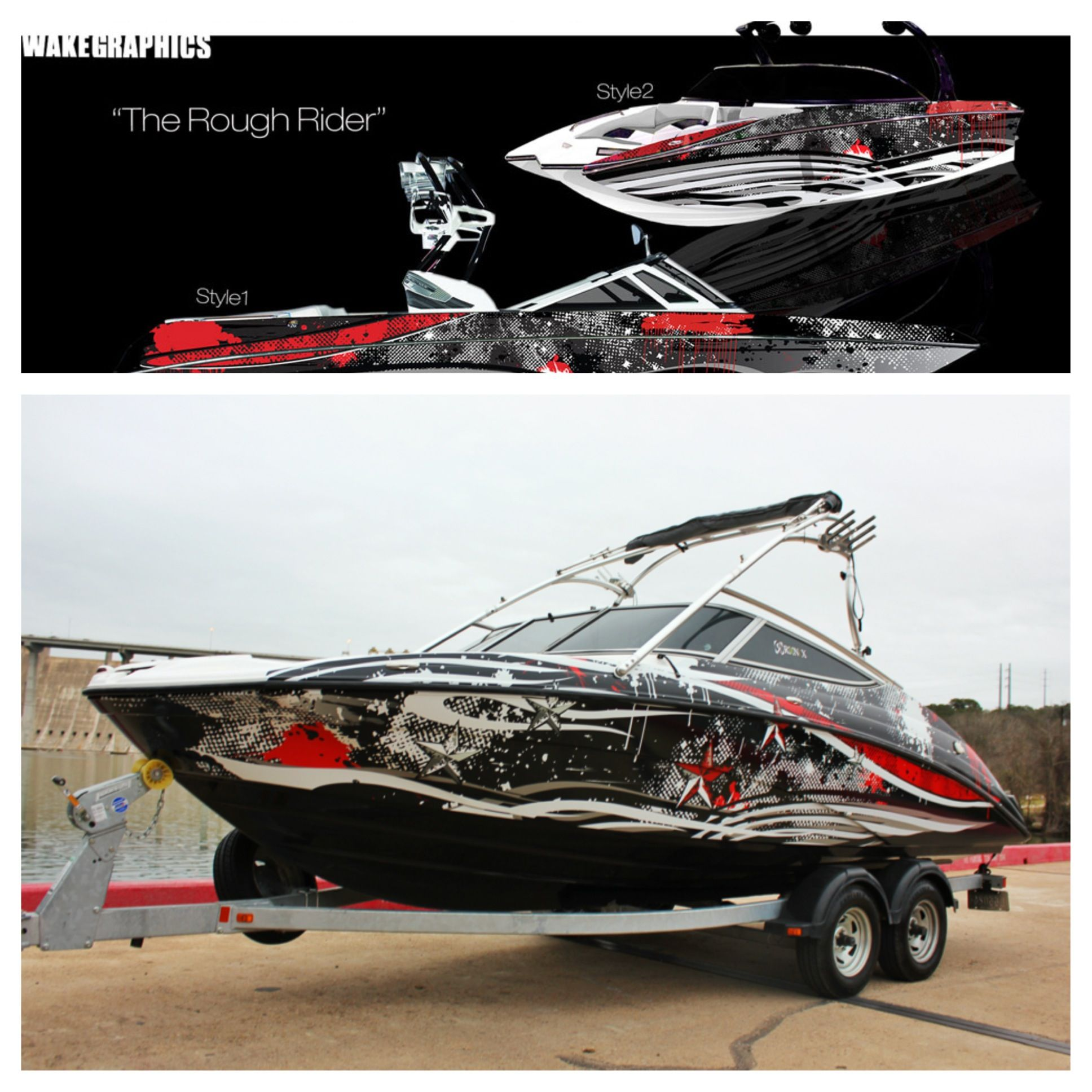 vehicle - Boat Graphics Designs Ideas