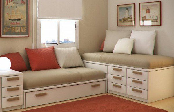 55 ideas de c mo aprovechar y ahorrar espacio en el hogar for Habitaciones pequenas aprovechar espacio