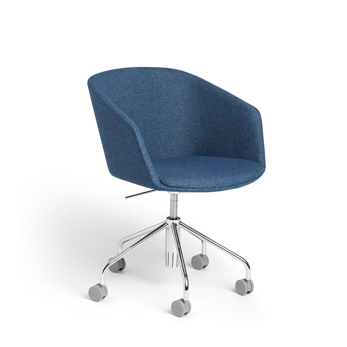 Dark Blue Pitch Meeting Chair Modern Office Furniture Poppin