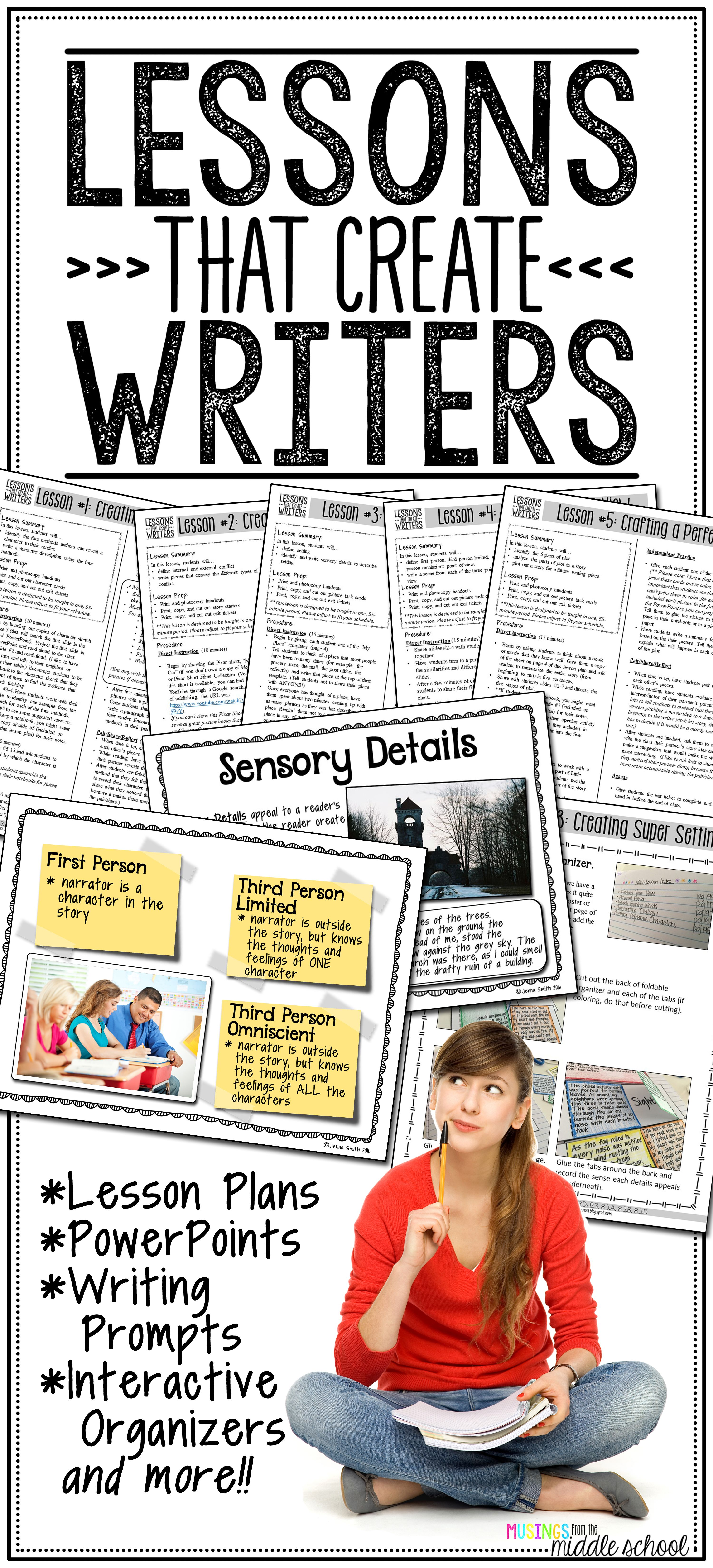 Writing Mini Lessons The Bundle Pinterest Guided Practice