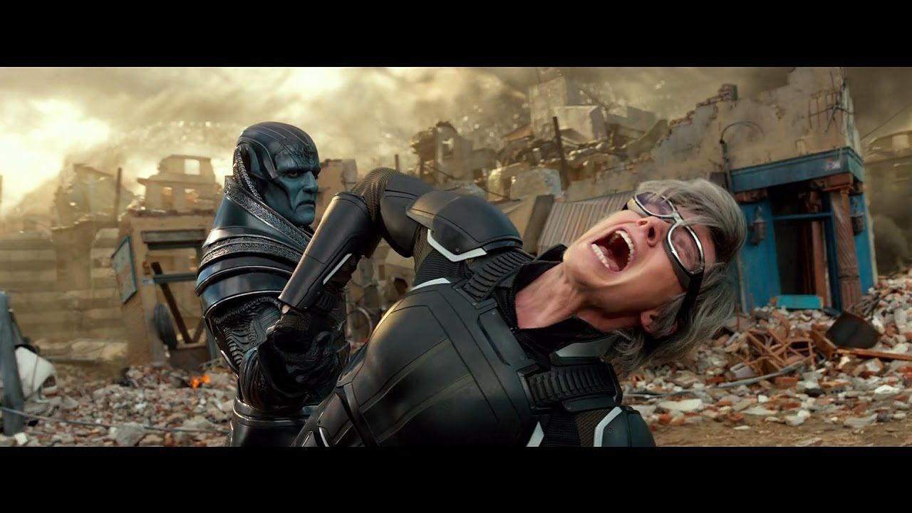 X Men Apocalypse Vs Quicksilver Fight Scene Blu Ray Hd Movie Scenes X Men Apocalypse Favorite Movies