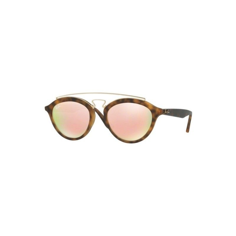 1675887366024 Gafas de sol RAY BAN RB4257 New Gatsby Havana Mate   Cobre Espejo Degradado