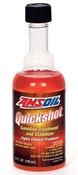 Quickshot Amsoil Fuel Additives Powersports